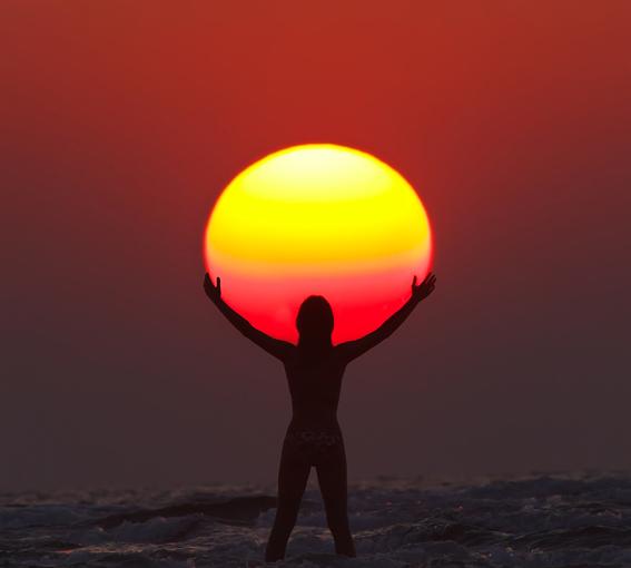 太陽を持つ人1