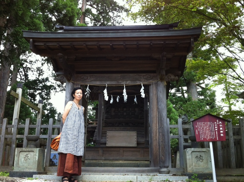 弾ける笑顔 クオーレテラピー-御岳山神社